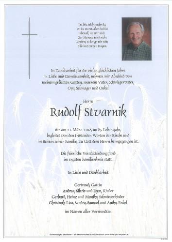 Rudolf Stvarnik