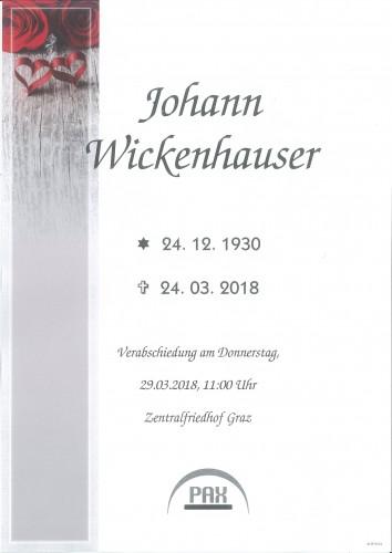 Johann Wickenhauser