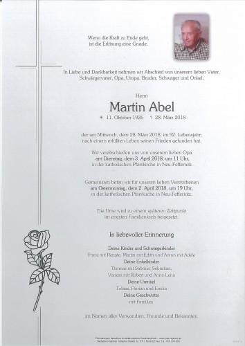 Martin Abel