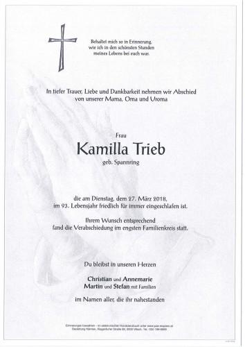 Kamilla Trieb
