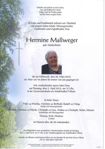 Hermine Mallweger
