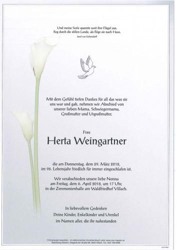 Herta Weingartner