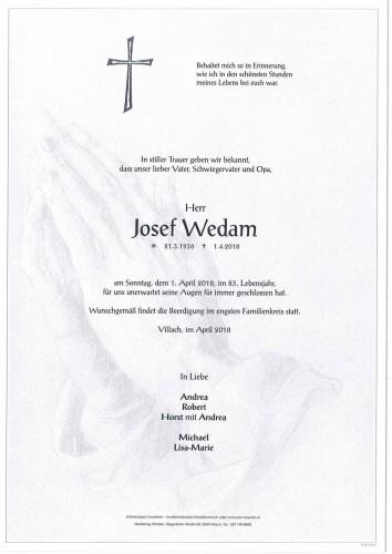 Josef Wedam