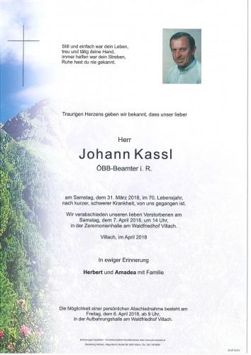 Johann Kassl