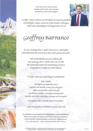 Geoffrey Barranco