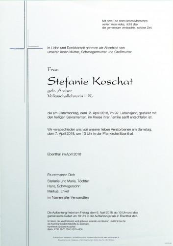 Stefanie Koschat