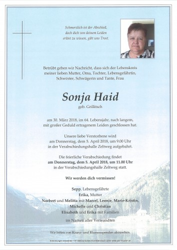 Sonja Haid