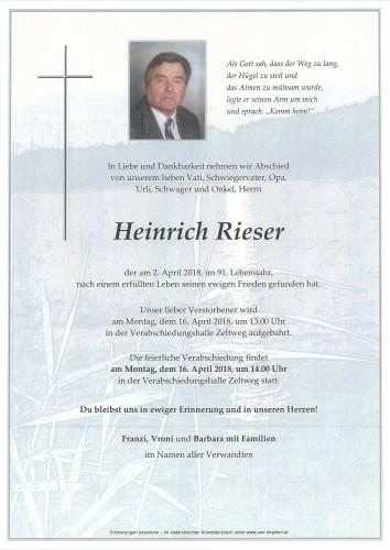 Heinrich Rieser