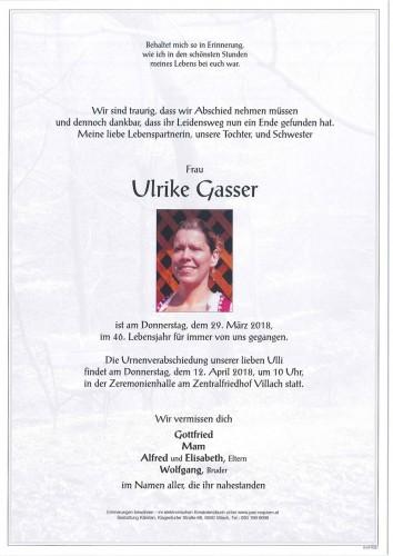 Ulrike Gasser