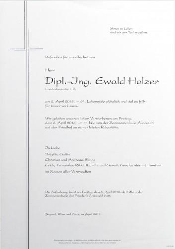Dipl.-Ing. Ewald Holzer