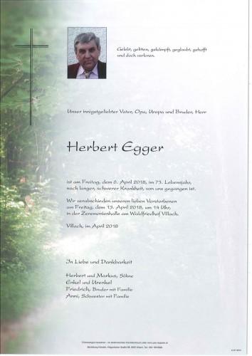 Herbert Egger