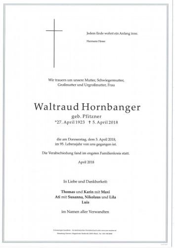 Waltraud Hornbanger