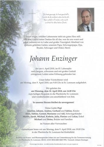 Johann Enzinger
