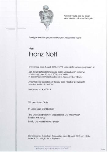 Franz Nott