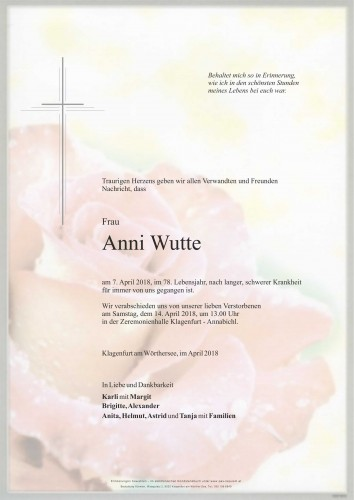 Anni Wutte