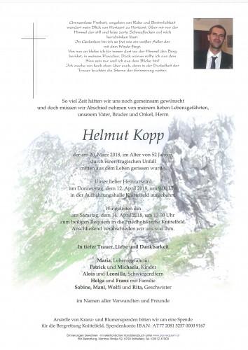 Helmut Kopp