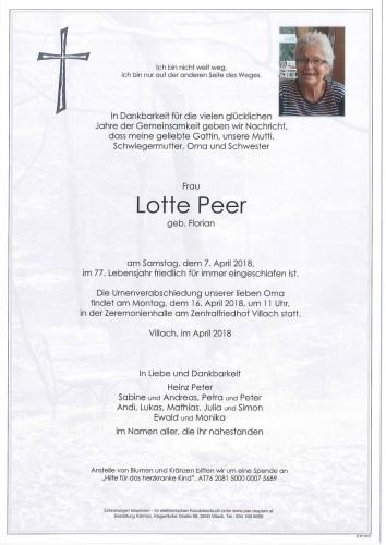 Charlotte Peer