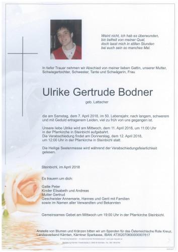Bodner Ulrike