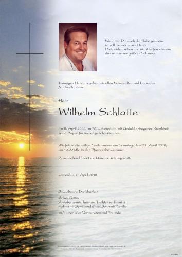 Schlatte Wilhelm