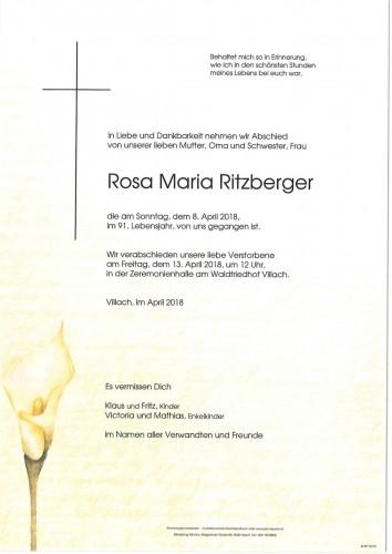 Rosa Maria Ritzberger