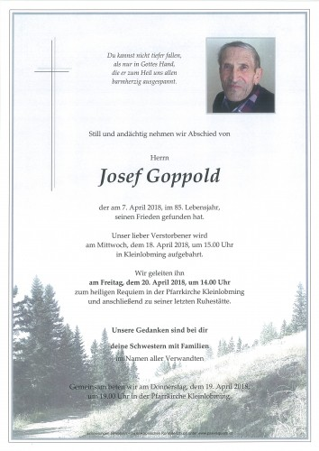 Josef Goppold