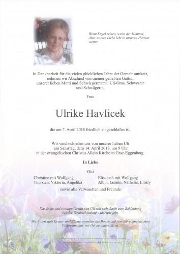 Havlicek Ulrike