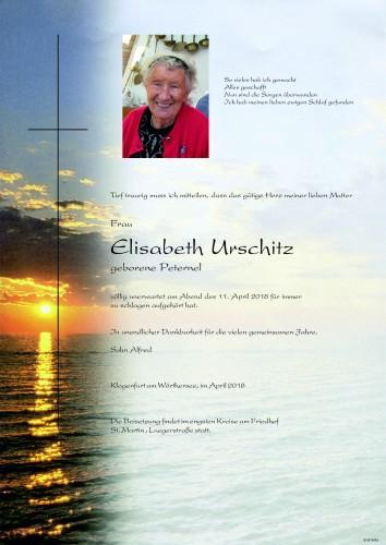 Urschitz Elisabeth Catharina