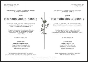 Kornelia Mostetschnig