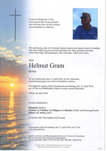 Hofrat Helmut Gram