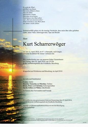 Kurt Scharrerwöger