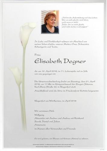 Elisabeth Degner