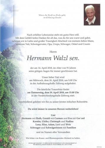 Hermann Walzl sen.