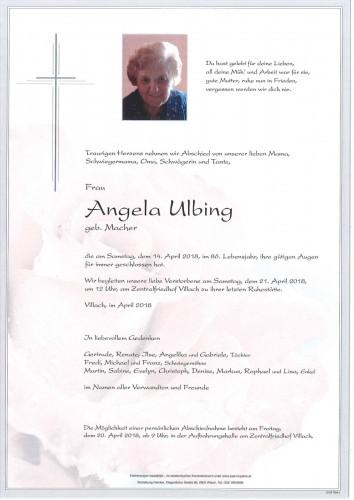Angela Ulbing