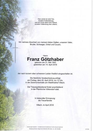 Franz Götzhaber