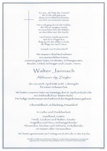Walter Jannach