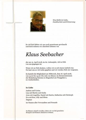 Klaus Seebacher