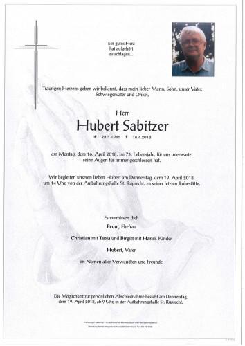Hubert Sabitzer