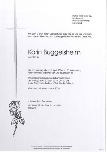 Karin Buggelsheim geb. Pichler