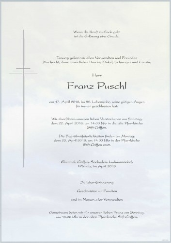 Puschl Franz