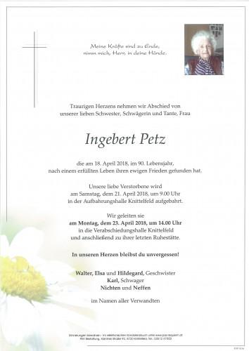 Ingebert Petz