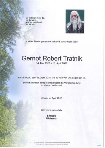 Gernot Robert Tratnik