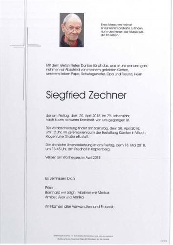 Siegfried Zechner