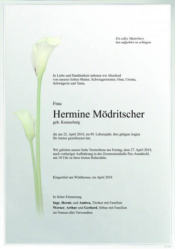 Hermine Mödritscher