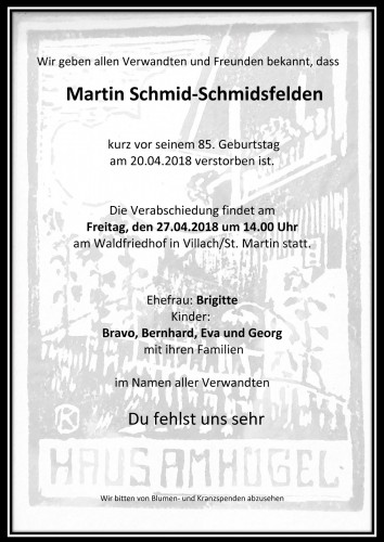Martin Schmid-Schmidsfelden