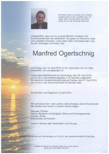 Manfred Ogertschnig