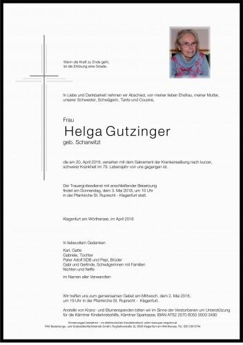 Helga Gutzinger