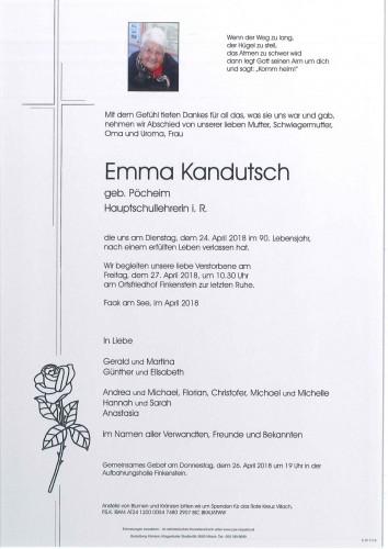 Emma Kandutsch