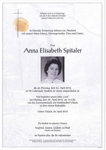 Anna Elisabeth Spitaler
