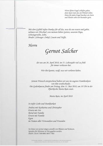 Gernot Salcher