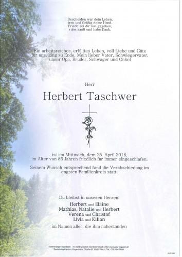 Herbert Taschwer